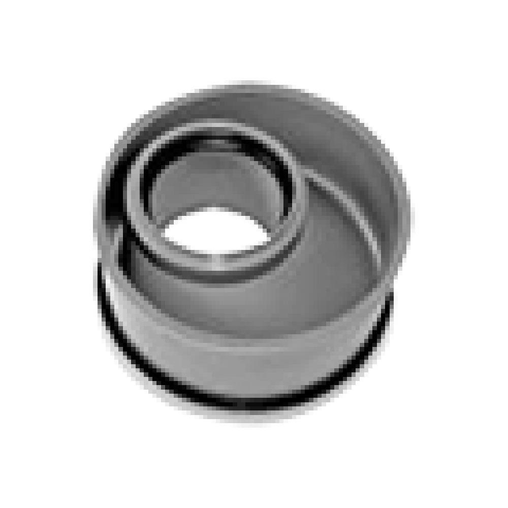 rond pour tuyaux en aluminium flexibles Manchon de raccord raccords d/'a/ération tuyaux en spirale