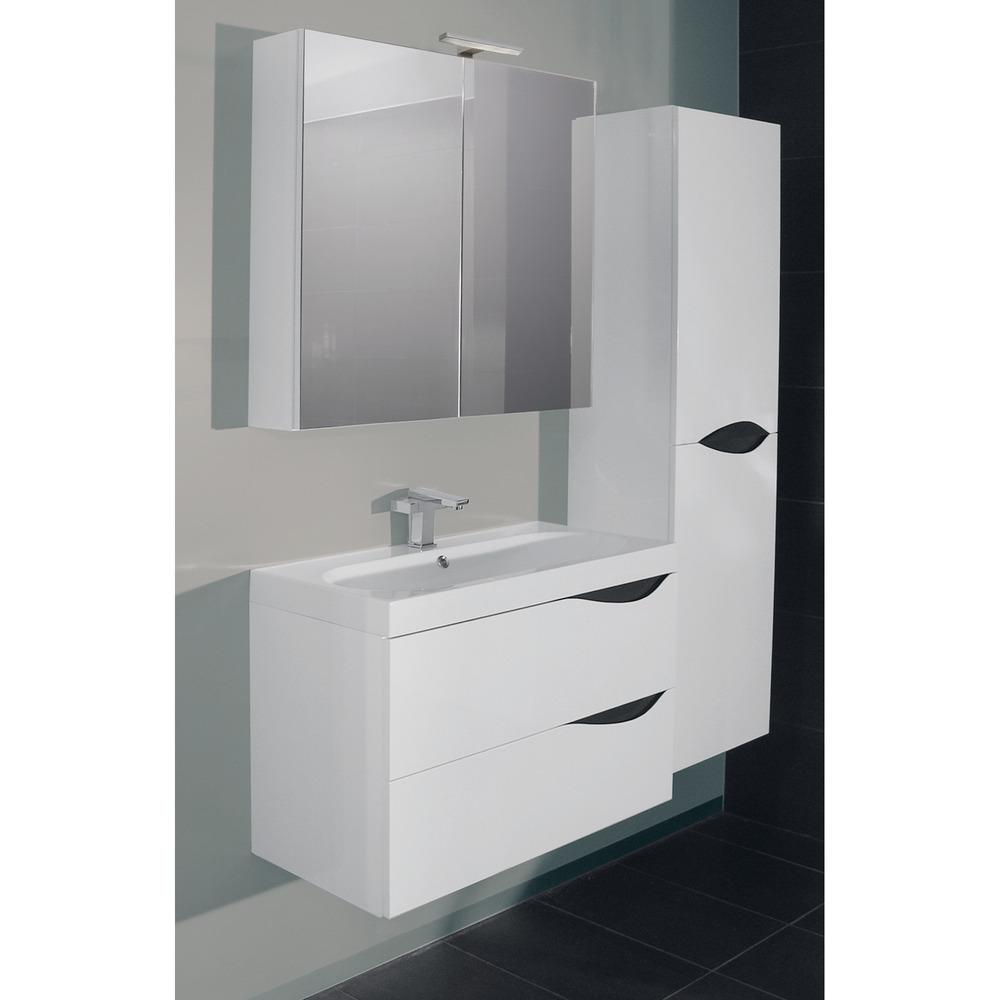 blue france ensemble 80 cm avec armoire de toilette. Black Bedroom Furniture Sets. Home Design Ideas